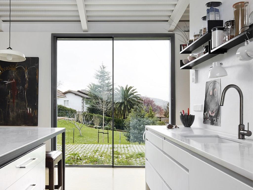 baie coulissante aluminium premium vision. Black Bedroom Furniture Sets. Home Design Ideas