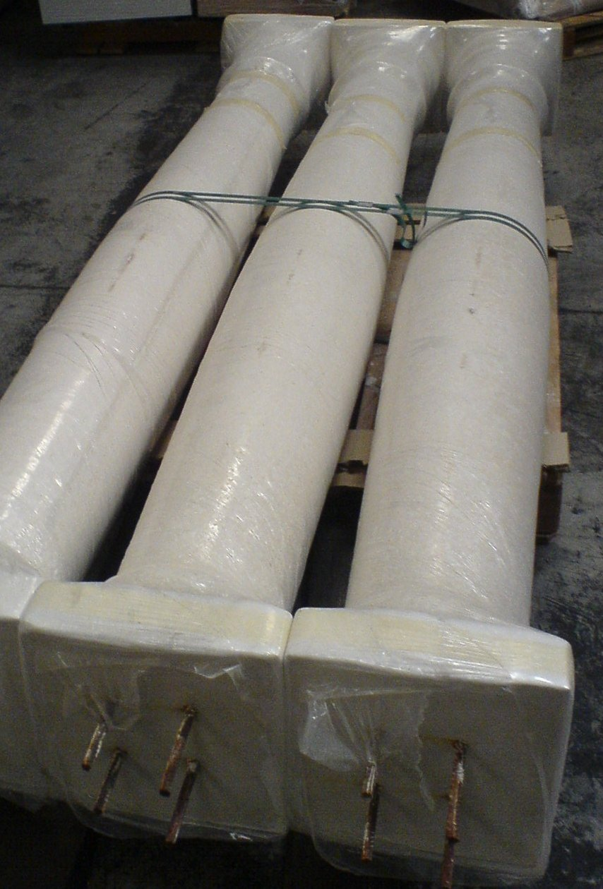 Habiller Un Pilier En Beton colonne en béton armé ou fibré - 22 modèles