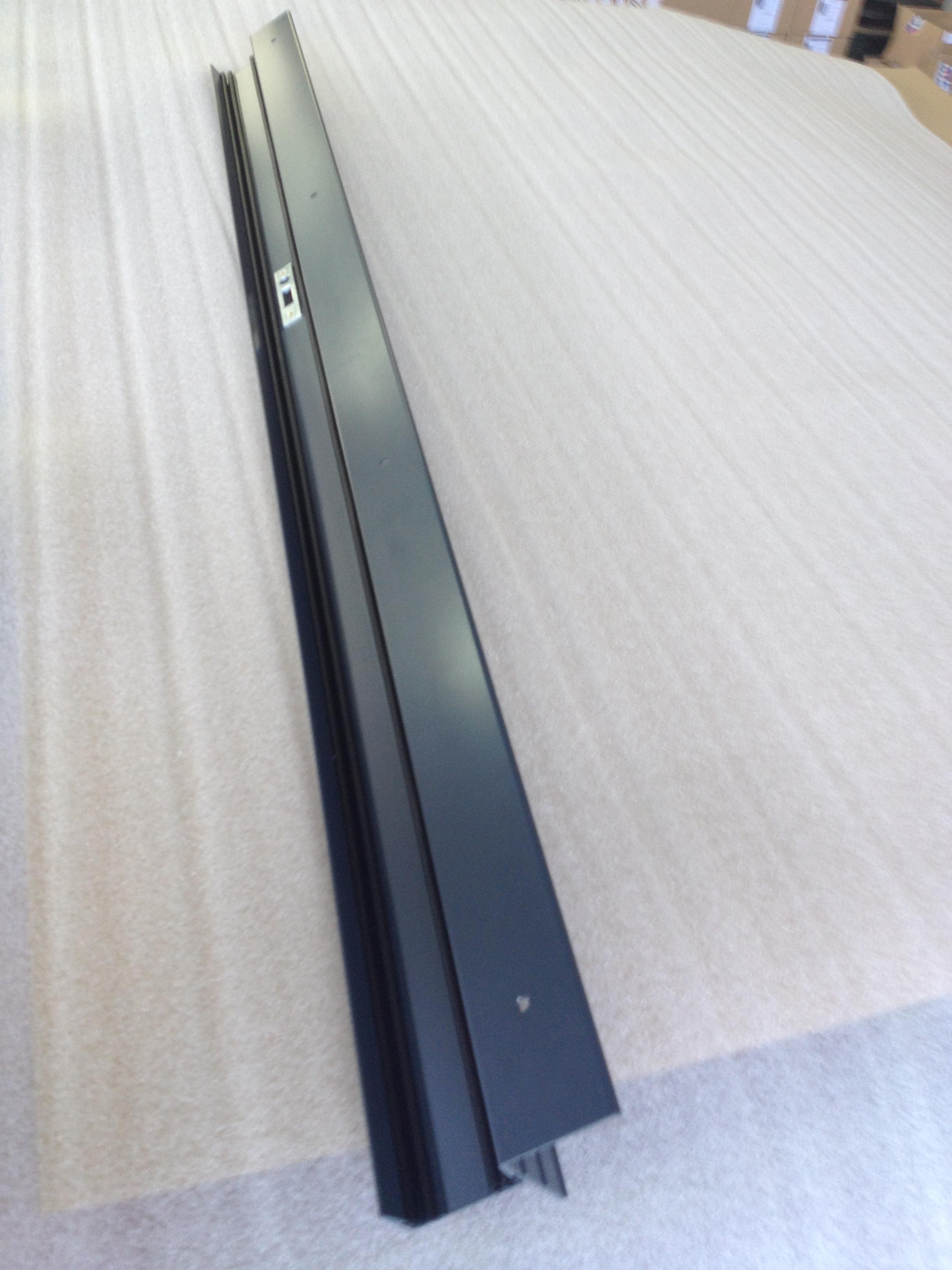 Portail battant et coulissant et cl ture aluminium - Gache de reception portail coulissant ...