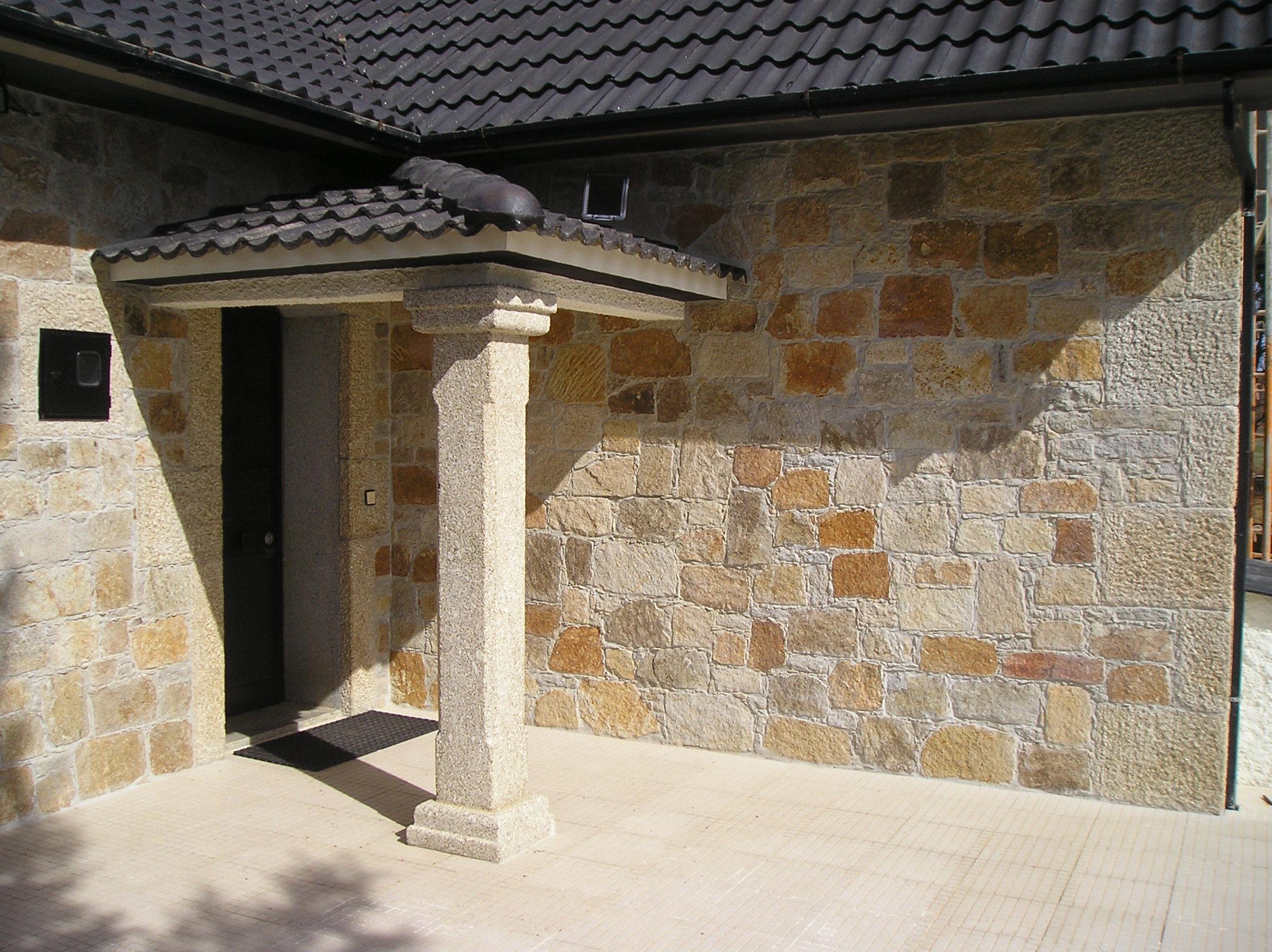 Pierre De Parement En Granit colonne et pilier en pierre